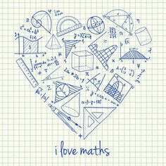 92b33c534 Illustration of maths doodles in heart shape - buy this stock vector on  Shutterstock   find other images.