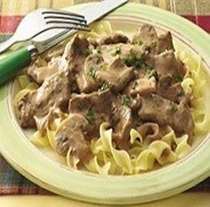 Weight Watchers Recipes - Easy Beef Stroganoff