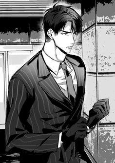 Why does he look like he was ripped out of a Yaoi manga lol #hq #ushijima