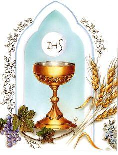 Religious Cakes, Religious Photos, Religious Symbols, Première Communion, First Holy Communion, Holy Spirit Images, Pictures Of Jesus Christ, Jesus Faith, Altar Cloth