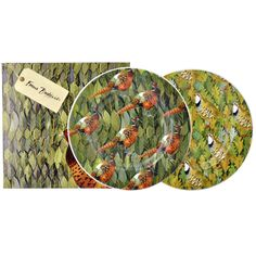 Birds & Leaves Set of 2 x 8.5 inch Plates 2014 (Discontinued)