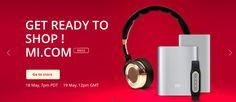 Interesante: El 18 de Mayo Xiaomi abrirá las puertas de su tienda de accesorios
