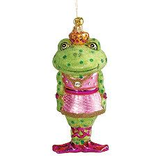 Freida the Frog JingleNog Ornament