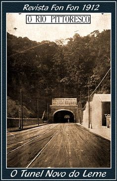 Túnel Novo do Leme 1912