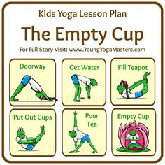 The Story of the Empty Cup for Back to School Yoga - Once a student of Zen went to learn from the Master. When he arrived, he was invited into the Master's room where the Master began to make tea for them. The student was so excited and wanted to impress the Master so much, he began talking on and on about all the courses he had taken and all the insight he had already gained... - See more at…