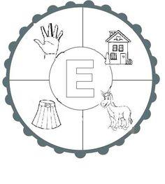 Alphabet E, Articulation Activities, Turkish Language, Writing A Book, Montessori, Origami, Diy And Crafts, Kindergarten, Preschool