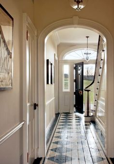 A New Federal-Style Farmhouse | Old House Restoration, Products & Decorating