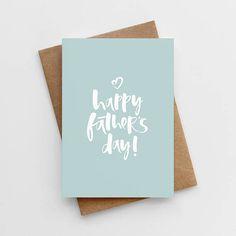 Happy Father's Day Card - Father's Day Card - Card For Daddy - Father's Day - Dad's Day Card - Card For Dad