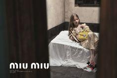 Miu Miu has revealed a new Steven Meisel-shot campaign starring Mia Goth, Imogen Poots and Marine Vacth: http://www.dazeddigital.com/fashion/article/23065/1/miu-miu-reveals-ss15-campaign-starring-mia-goth