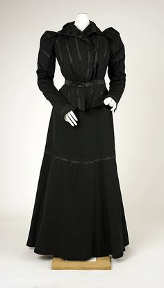 Suit, Afternoon  Date: ca. 1898 Culture: French