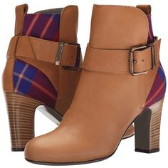Vivienne Westwood Granny Jodpour Women's Boots ($550) ❤ liked on Polyvore featuring shoes, boots, tan, buckle boots, pull on boots, leather upper boots, slip on leather boots and leather slip on shoes