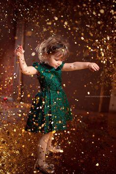 The glitter girl