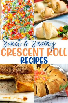 Sweet & Savory Recipes Using Crescent Rolls Nutella Crescent Rolls, Crescent Roll Cheesecake, Recipes Using Crescent Rolls, Apple Cinnamon Rolls, Delicious Dinner Recipes, Dessert For Dinner, Breakfast Dishes, Chef, Kitchen Recipes