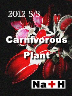 "Na+H 2012 S/S collection ""Carnivorous Plant"""