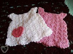 """""""Little White Dresses"""" from Make It Crochet"""