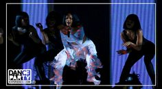"""""""Work work work"""" Dance Party Teacher's Sherinne and TJ performed with Rihanna at the 2016 Brit Awards - book your Twerking Dance Party Experience and learn from the best! http://www.dancepartyexperience.com/twerking-dance-experience/"""