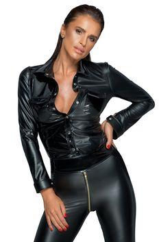 Lingerie Latex, Lingerie Paris, Body Lingerie, Ensemble Lingerie, Lingerie Fine, Leather Trousers Outfit, Leather Dresses, Leather Jacket, Leather Tops