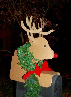 Reindeer Mailbox Topper 14 95 Country Trimmin S Prims