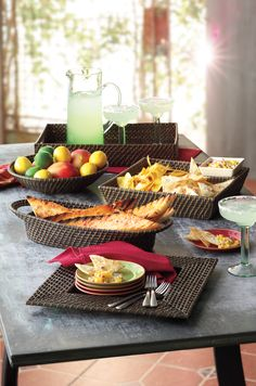 Add an extra pinch of flavor to your meal with rattan-style servewear. #BobbyFlay #Kohls