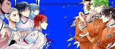 Rakuzan vs Shuutoku