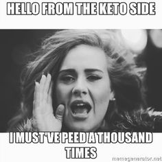 Literally Just 20+ Jokes About The Keto Diet
