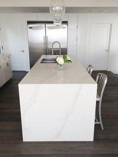 Caesarstone Calacatta Nuvo Kitchen Counters | COCOCOZY