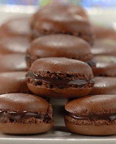 Macarons de Chocolate - RECEITA POR  NESTLÉ