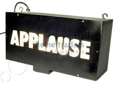 Applause Signs Props, Prop Hire