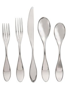 Paddle 5 Piece Place Setting from Flatware on Gilt