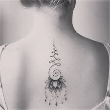 What does unalome tattoo mean? We have unalome tattoo ideas, designs, symbolism and we explain the meaning behind the tattoo. Small Quote Tattoos, Tattoos For Women Small, Tattoos For Guys, Mini Tattoos, Body Art Tattoos, Tatoos, Unalome Tattoo, Lotus Tattoo, Mandala Tattoo