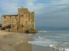 Torre Mozza beach in the Gulf of Follonica, Maremma Tuscany