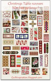 Quilt Inspiration: Free pattern day: Christmas Table Runners! Christmas Patchwork, Christmas Sewing, Christmas Crafts, Christmas 2015, Christmas Quilting, Christmas Tables, Purple Christmas, Coastal Christmas, Modern Christmas