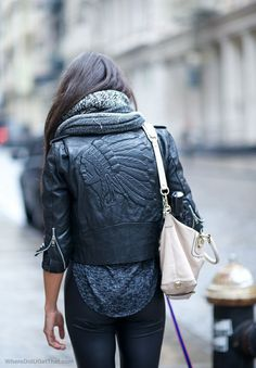 Indian leather jacket
