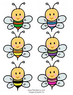 * Bloemen & Bijtjes....welke bij hoort bij welke bloem? 3-4
