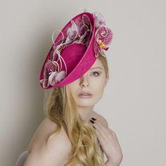 Rose - Carrie Jenkinson Millinery #fascinators #bespokefascinators #hats #headwear #milliners #millinery