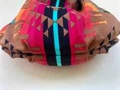 Southwestern Hobo Ethnic Hobo Bag Aztec Hobo Bag Native | Etsy Orange And Turquoise, Large Purses, Hobo Bag, Cotton Canvas, Aztec, Printing On Fabric, Ethnic, Canvas Prints, Brown
