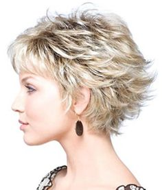 35 Summer Hairstyles for Short Hair – Hair Style Short Layered Haircuts, Cute Hairstyles For Short Hair, Curly Hair Styles, Bob Hairstyles, Pixie Haircuts, Wedding Hairstyles, Medium Hairstyles, Black Hairstyles, Short Cuts