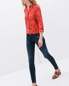 Image 2 of SKINNY JEANS from Zara