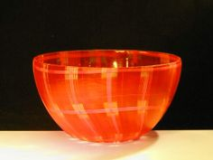 Murano Glass Bowl  l  Art of Venice