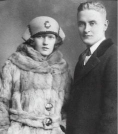 Zelda and F. Scott Fitzgerald. Beautiful and Damned.