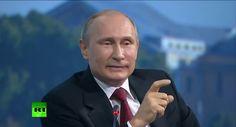 Путин-выдающийся деятель мирового масштаба.Гордость России,вместе с Путиным,и под руководством Путина- Россия достигнет высот.которые не снились Западу. Путин об Украине БЕЗ МОНТАЖА и ВЫРЕЗОК на ПМЭФ 2014 ЖЕСТЬ