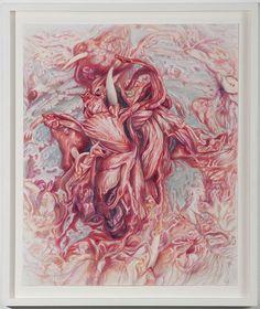 Artist: Victoria Reynolds, Title: Sweet Rococo Hibiscus, 2010-11