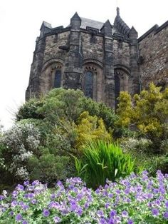 """Before it was known as """"Edinburgh Castle,"""" this fortress went by another name. Edinburgh's legendary founder, """"Ebrawce"""" (Ebraucus), was a king of the Britons who supposedly had twenty wives and fifty children. He is credited with establishing """"the Castell of Maidens called Edenbrough"""" in 989 BC. The name """"Maiden Castle"""" was commonly used until at least the 1500s."""