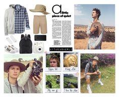 """Safari."" by askerli-aytan ❤ liked on Polyvore featuring Banana Republic, Billabong, Gucci, Lands' End, Björn Borg, adidas Originals, Burberry, Fujifilm, Big Bud Press and men's fashion"