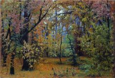 Autumn forest - Ivan Shishkin