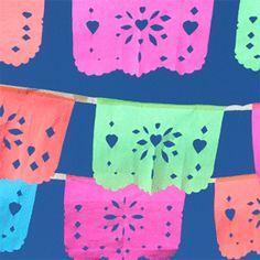 ¡Cómo hacer papel picado para el Día de los Muertos!