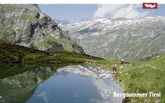 Lake near Großvenediger Mountain, Osttirol (Tyrol, Austria)