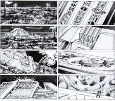 Storyboards Blade Runner