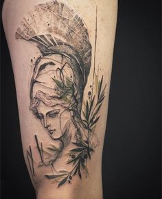 Athena & olive leafs  , Thank you