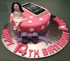 Teenager girl birthday cake. Personalised cake : celebratewithcake@rocketmail.com